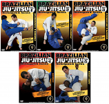 Brazilian Jiu-Jitsu Techniques and Tactics 5 DVD Set
