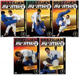 Brazilian Jiu-Jitsu Techniques and Tactics 5 DVD Set