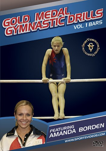 Gold Medal Gymnastics Drills: Bars DVD With Coach Amanda Borden and Free Shipping