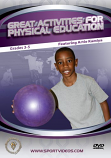 Great Activities for Physical Education: Grades 3-5 DVD or Download - Free Shipping