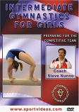 Intermediate Gymnastics for Girls DVD or Download - Free Shipping