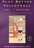 Play Better Volleyball: Setting DVD or Download - Free Shipping