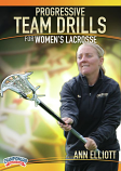 Progressive Team Drills for Women's Lacrosse DVDs