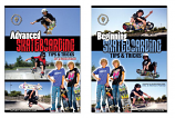 Skateboarding Tips and Tricks DVDs Set - Free Shipping