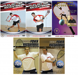 5 Racquetball DVDs for $25 Sale - Free Shipping