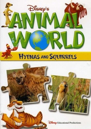 DISNEY'S ANIMAL WORLD: HYENAS AND SQUIRRELS NEW DVD 2007 - Free Shipping