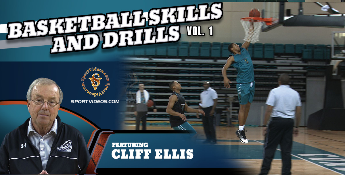 Basketball Skills and Drills Vol. 1 featuring Coach Cliff Ellis (Download)