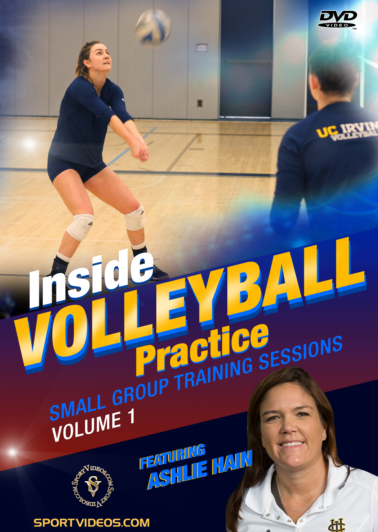 Inside Volleyball Practice: Small Group Training Sessions Vol. 1