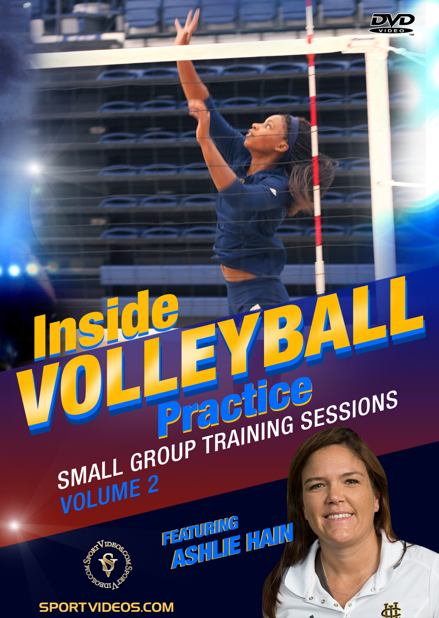 Inside Volleyball Practice: Small Group Training Sessions Vol. 2