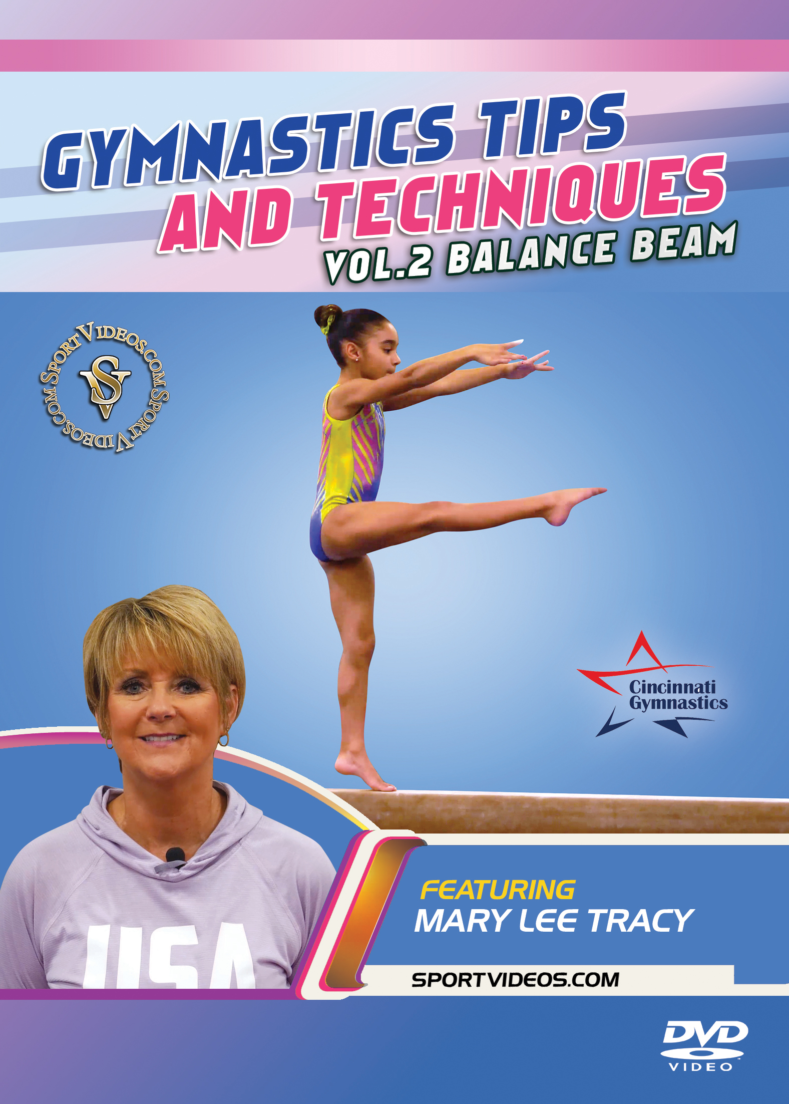 Gymnastics Tips and Techniques - Vol. 2 Beam DVD or Download (2018 Title) - Free Shipping