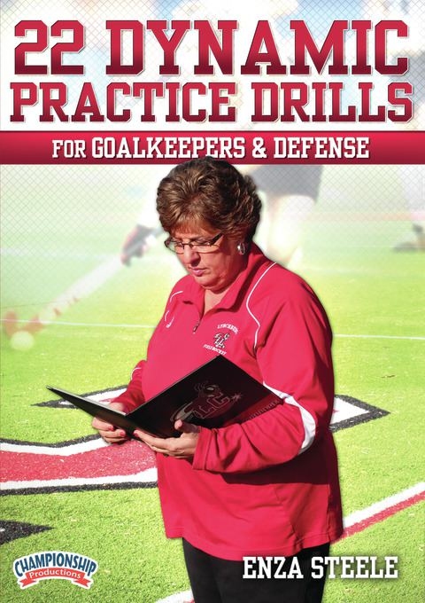 22 Dynamic Practice Drills for Goalkeepers and Defense DVD