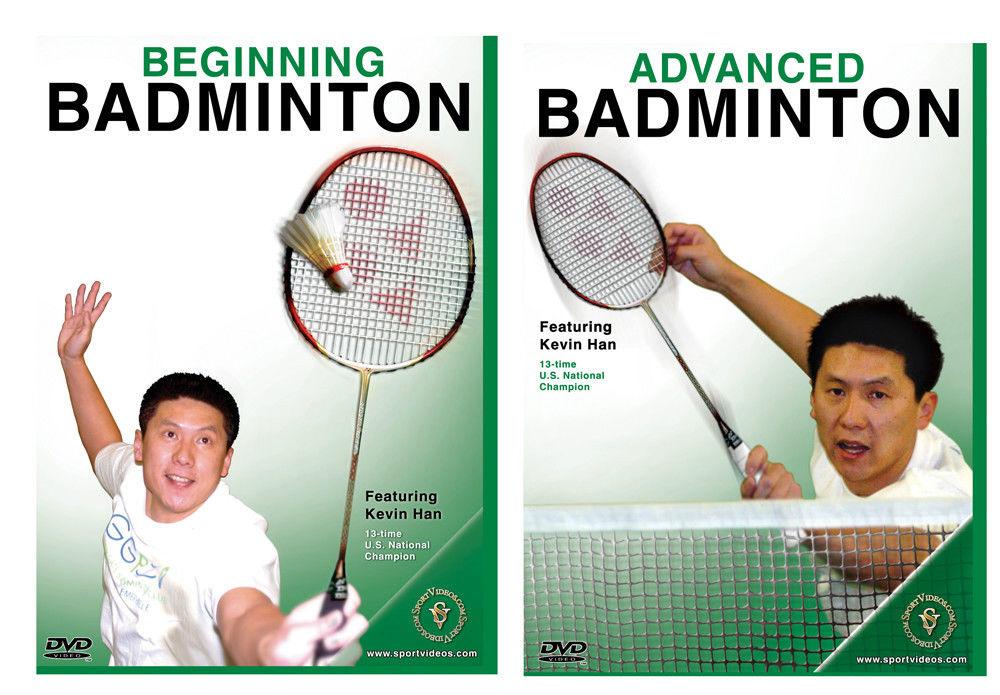 Badminton 2 DVD Set - Free Shipping
