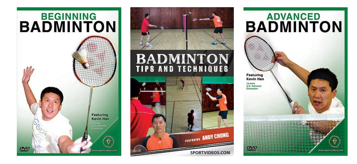 Badminton 3 DVD Set - Free Shipping