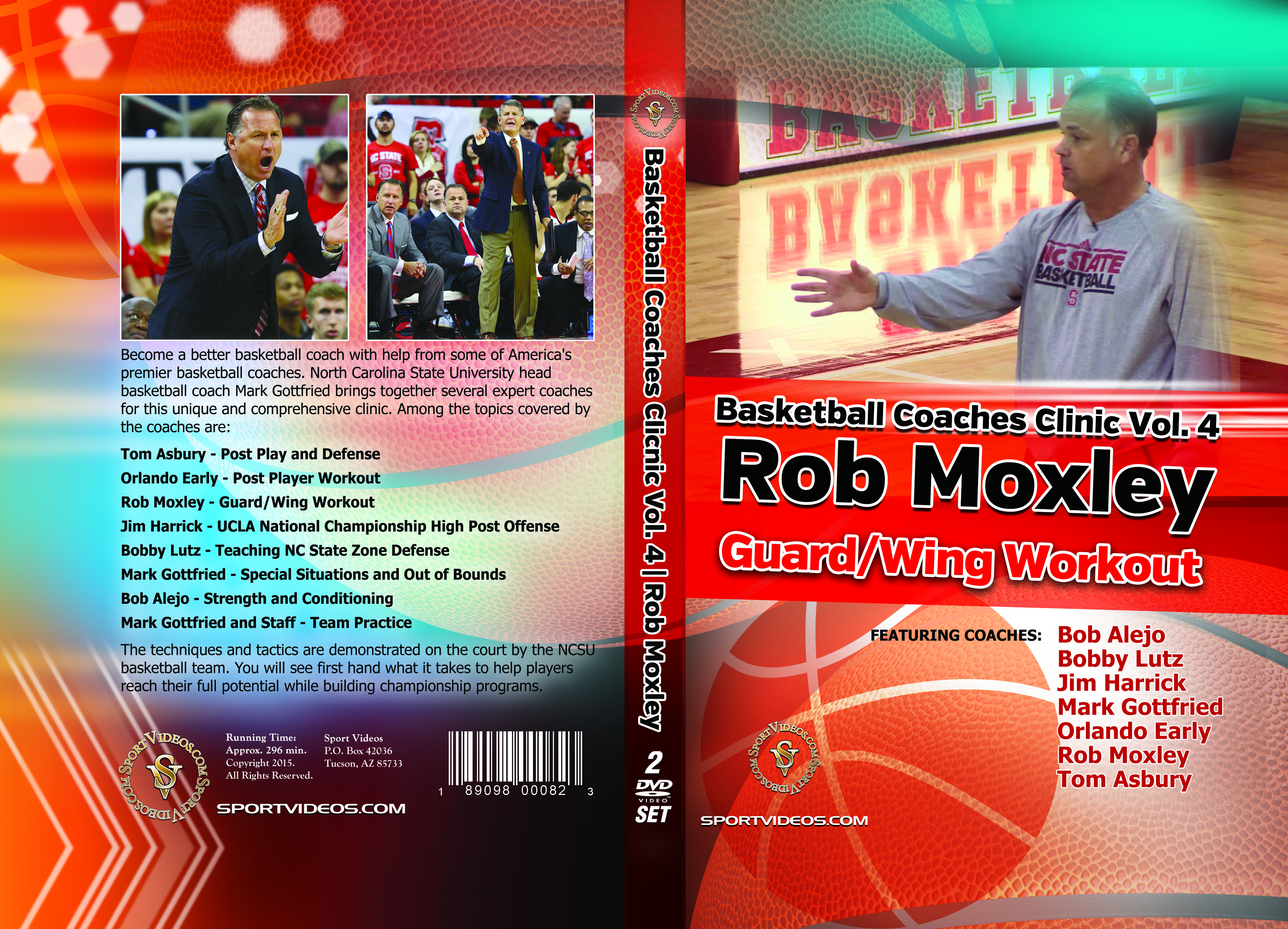 Basketball  Coaches clinic Vol. 4 Guard/Wing Workout - Download
