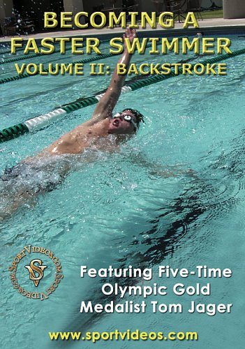 Becoming a Faster Swimmer: Backstroke DVD with Coach Tom Jager- Free Shipping