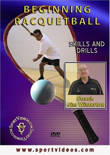 Beginning Racquetball DVD with Coach Jim Winterton- Free Shipping