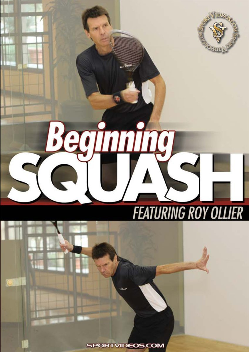 Beginning Squash DVD with Coach Roy Ollier
