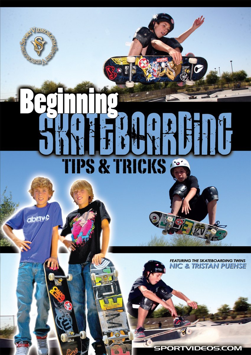 Begnning Skateboarding: Tips and Tricks DVD or Download - Free Shipping