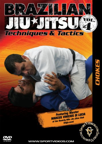 Brazilian Jiu-Jitsu Techniques and Tactics: Chokes DVD