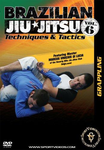 Brazilian Jiu-Jitsu Techniques and Tactics: Grappling DVD or Download - Free Shipping