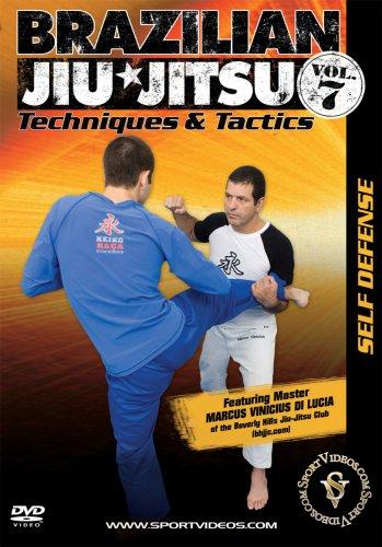 Brazilian Jiu-Jitsu Techniques and Tactics: Self Defense DVD or Download - Free Shipping