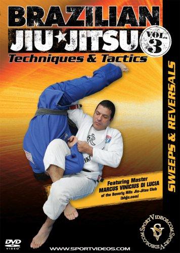 Brazilian Jiu-Jitsu Techniques and Tactics: Sweeps and Reversals DVD or Download - Free Shipping