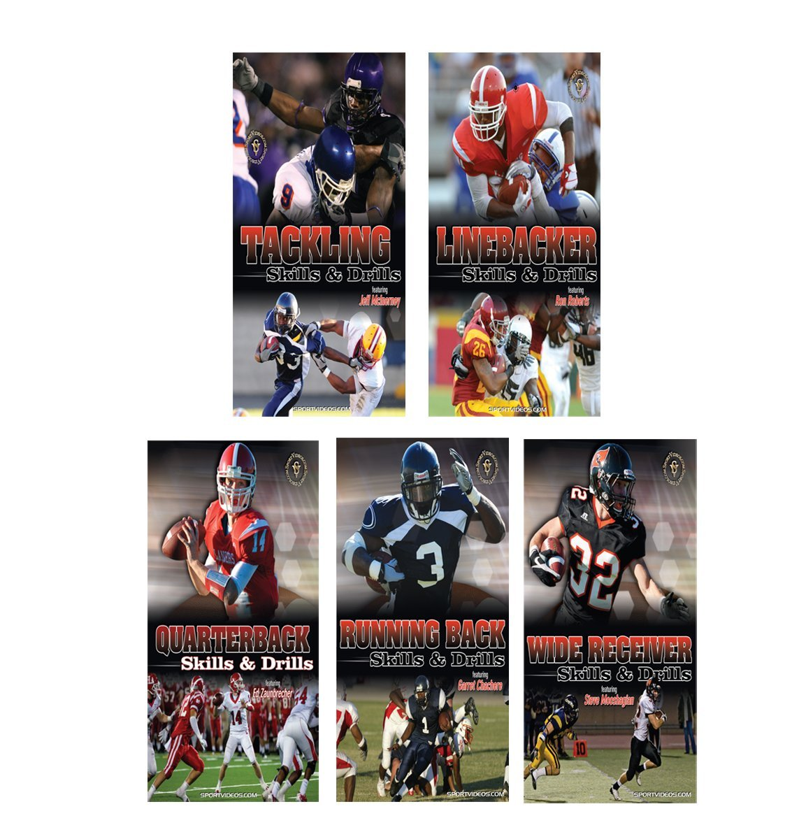Football Coaching 5 Video Instructional Set Download