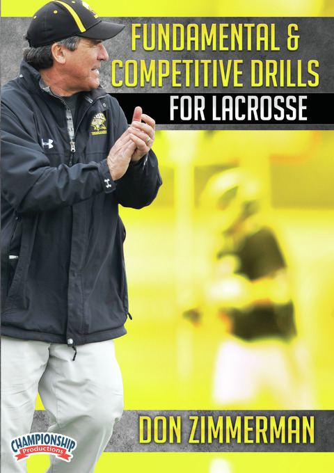 Fundamental and Competitive Drills for Lacrosse DVDs