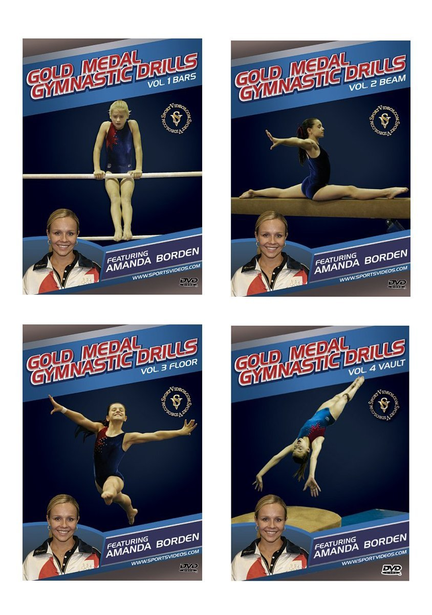 Gold Medal Gymnastics Drills DVD or Download Set  - Free Shipping