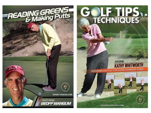Golf 2 Video Set -  Free Shipping