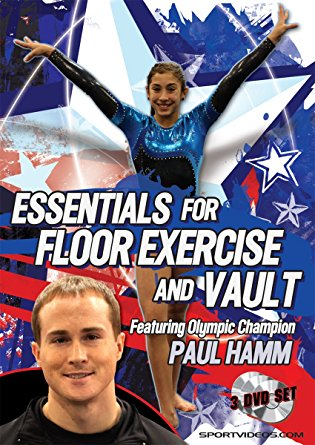 Gymnastics Essentials for Floor Exercise and Vault 3 DVD set with Coach Paul Hamm