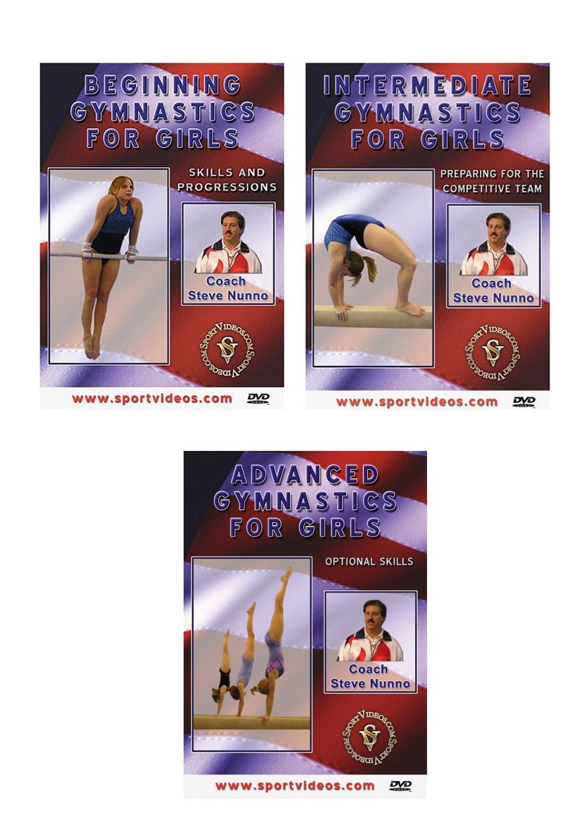Gymnastics for Girls DVD or Download Set - Free Shipping