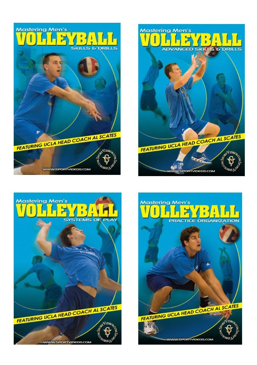 Mastering Men's Volleyball DVD Set or Video Download - Free Shipping