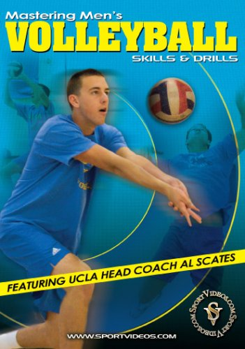 Mastering Men's Volleyball: Skills and Drills DVD or Download - Free Shipping
