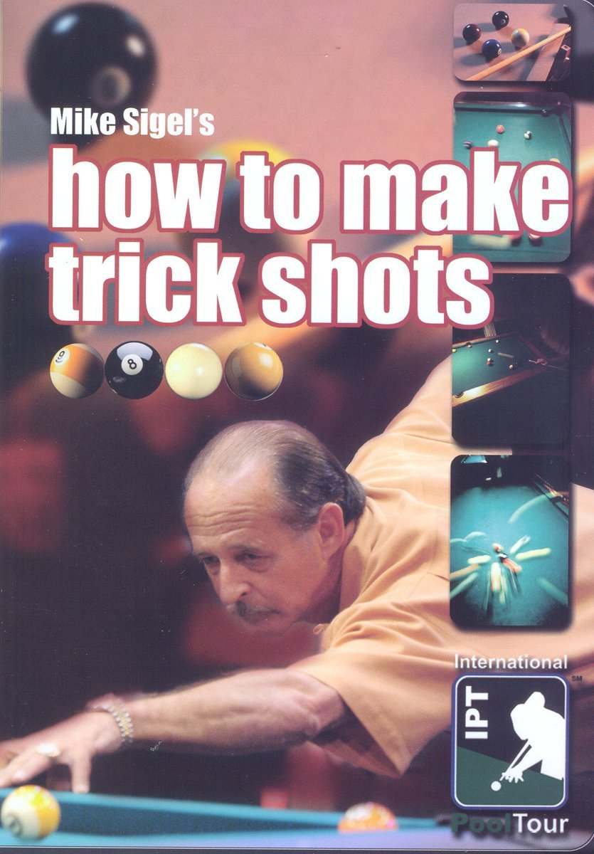 Mike Sigel's How to Make Trick Shots DVD or Download - Free Shipping
