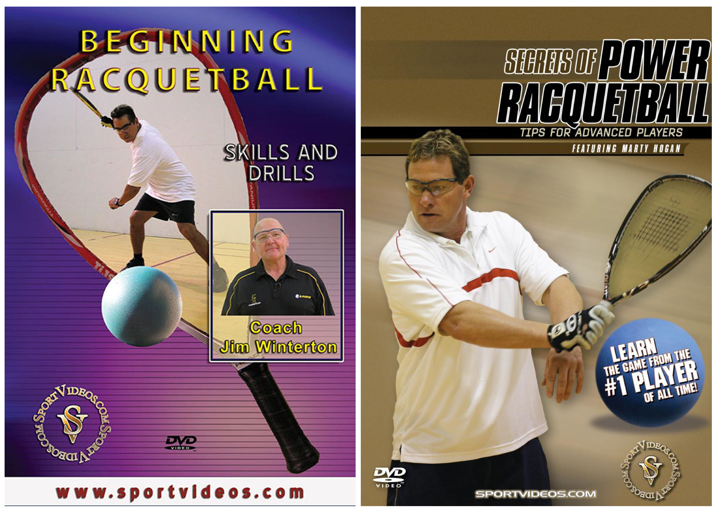 Racquetball 2 DVD Set