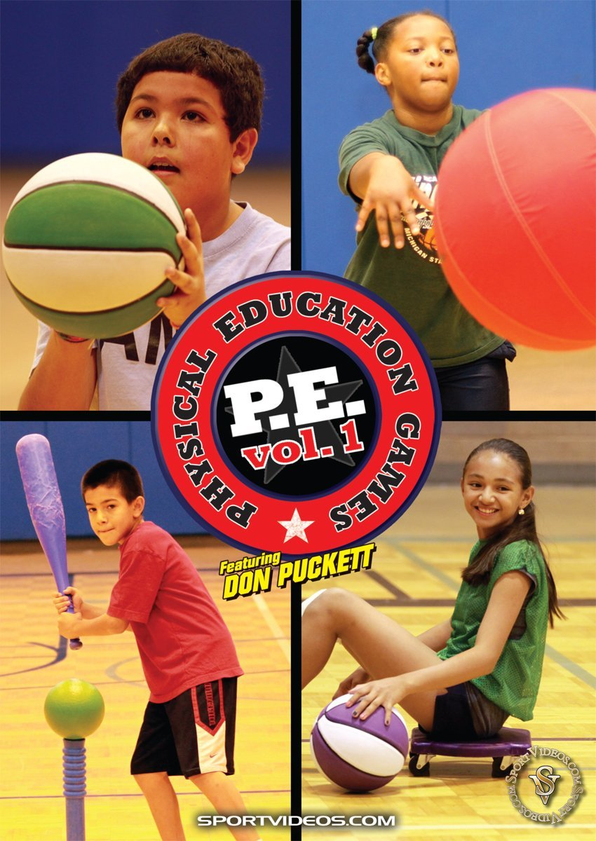 Physical Education Games - Vol. 1 DVD or Download - Free Shipping