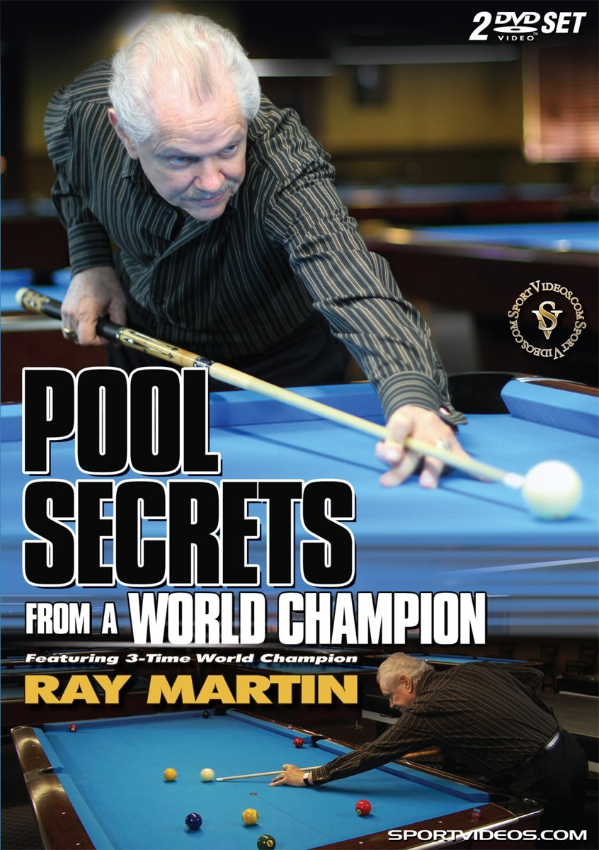 Pool Secrets from a World Champion 2 DVD Set with Coach Ray Martin