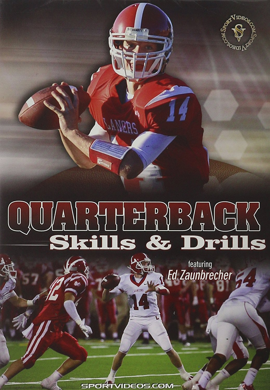 Quarterback Skills and Drills DVD or Download - Free Shipping