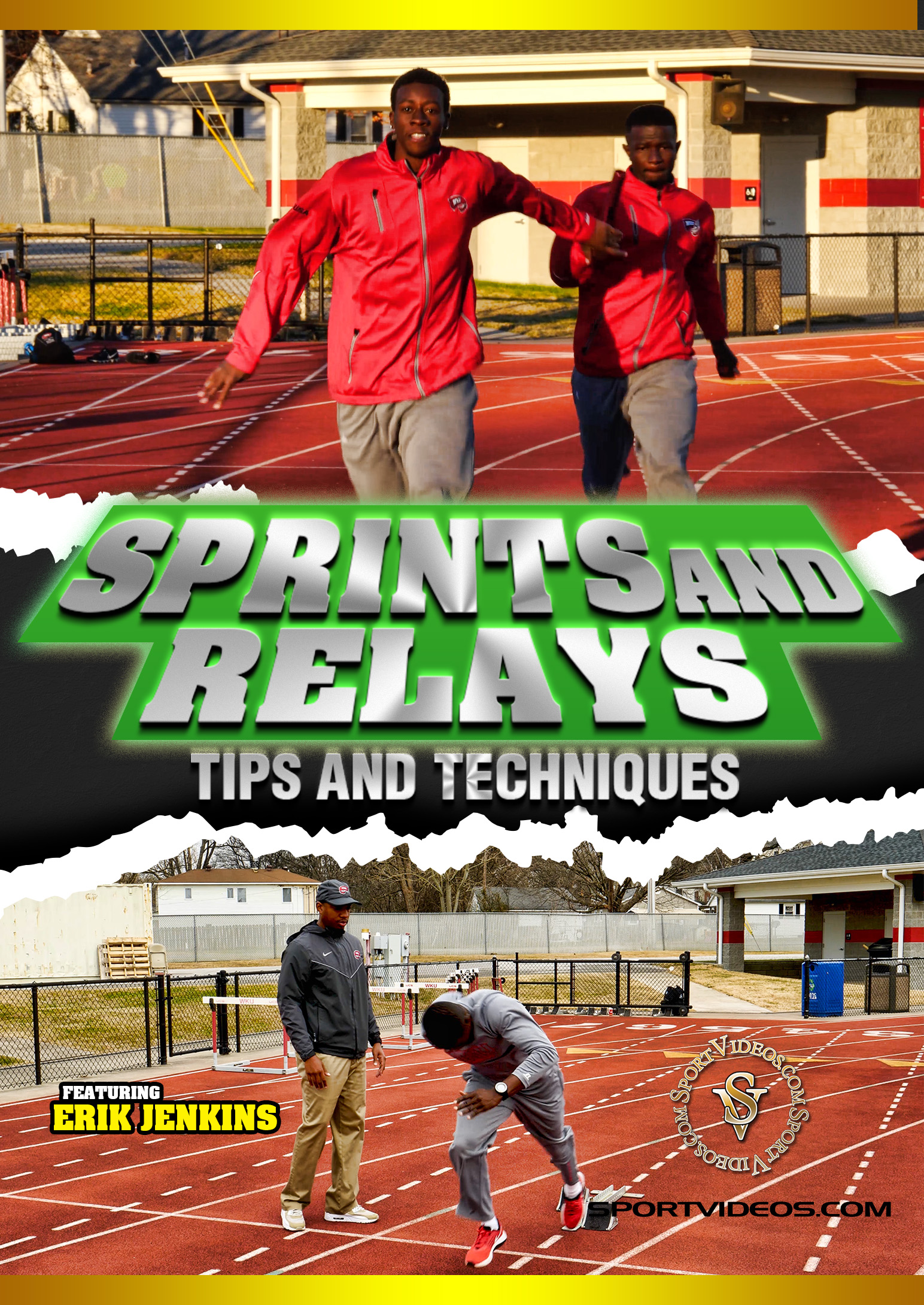 Sprints and Relays Tips and Techniques Download (2018 Title)