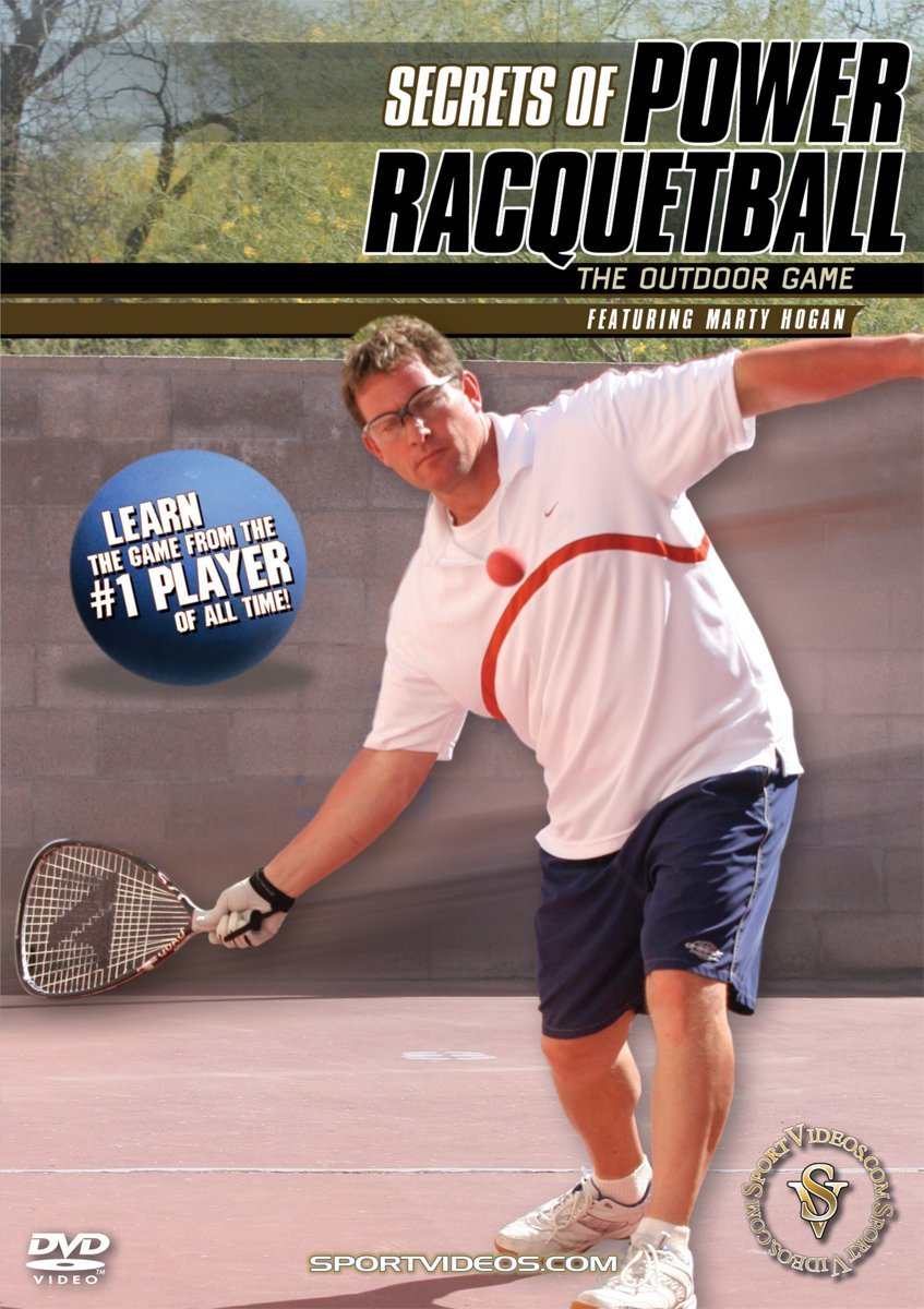 Secrets of Power Racquetball: The Outdoor Game DVD or Download - Free Shipping