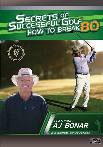 Secrets of Successful Golf: How to Break 80 DVD or Download - Free Shipping