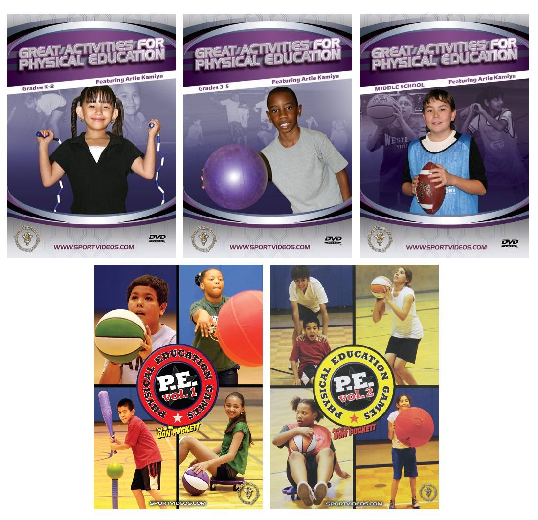 Set of 5 Physical Education Download