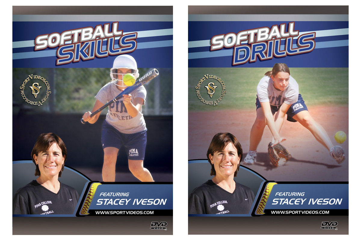 Softball Skills and Drills 2 DVD Set or Download - Free Shipping