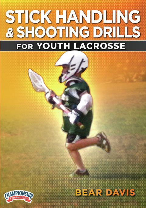 Stick Handling & Shooting Drills for Youth Lacrosse DVDs
