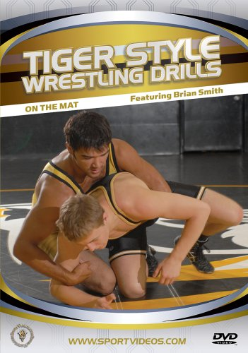Tiger Style Wrestling Drills: On the Mat DVD or Download - Free Shipping