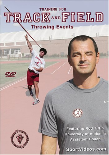 Training for Track and Field: Throwing Events DVD or Download - Free Shipping