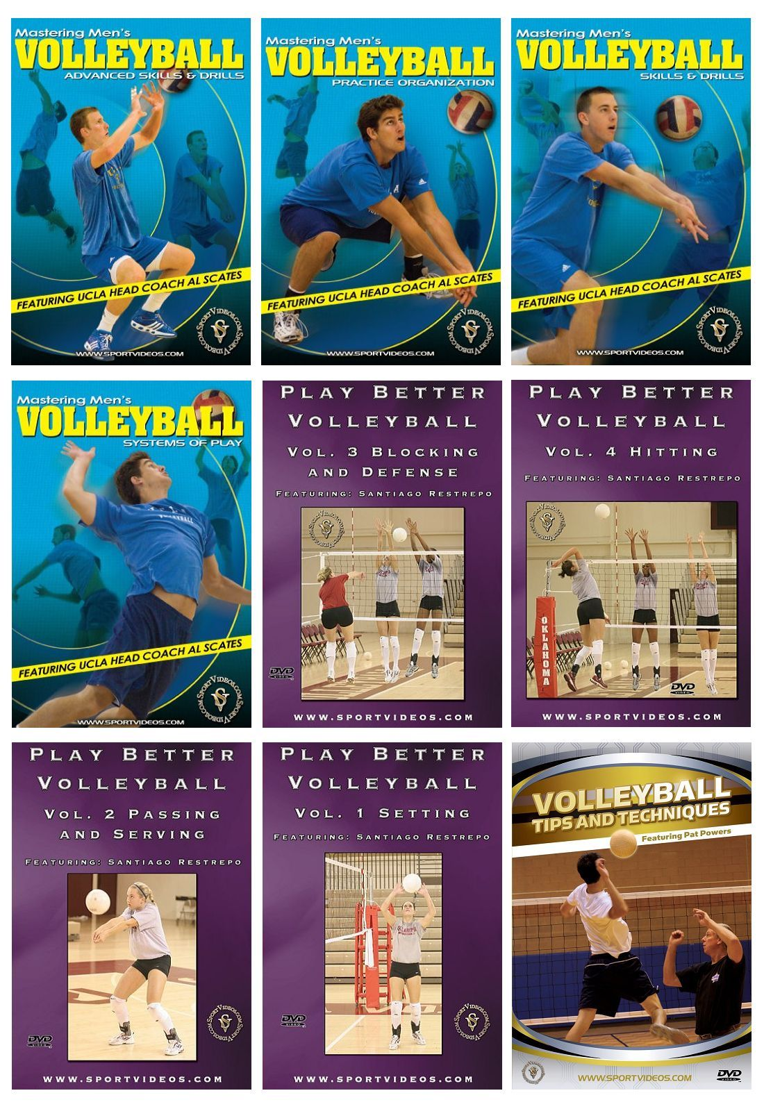 Volleyball 9 Download Set - Free Shipping
