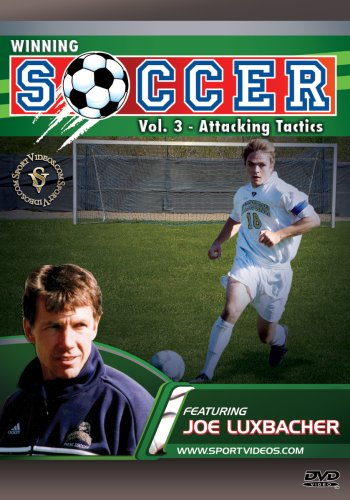 Winning Soccer: Attacking Tactics DVD with Coach Dr. Joseph Luxbacher