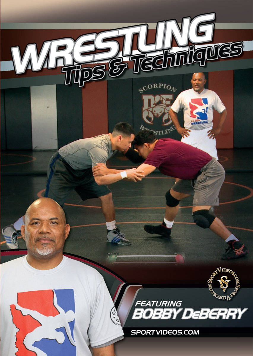 Wrestling Tips and Techniques  DVD or Download - Free Shipping
